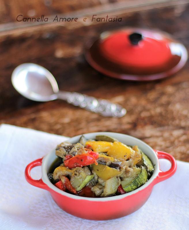 verdure in padella al basilico ricetta