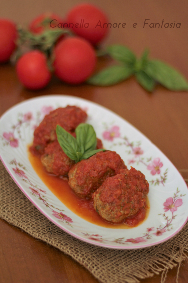 Polpette al pomodoro alla siciliana