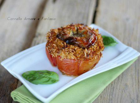 Pomodori ripieni di riso con tonno