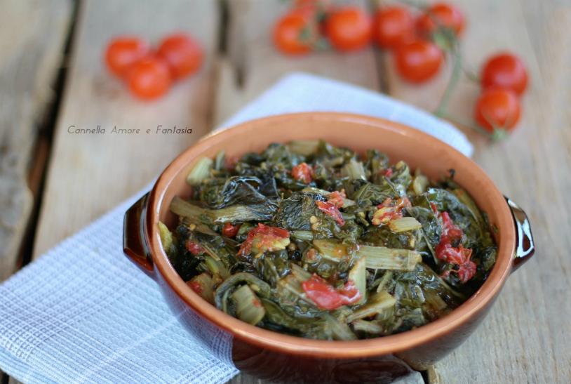 Bietola al pomodoro - ricetta siciliana