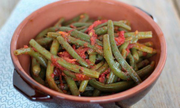 Fagiolini al pomodoro – ricetta siciliana