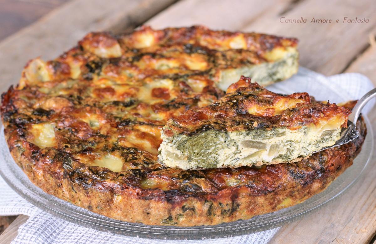 Frittata con bietole – ricetta vegetariana