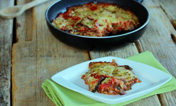 Parmigiana di zucchine – ricetta siciliana