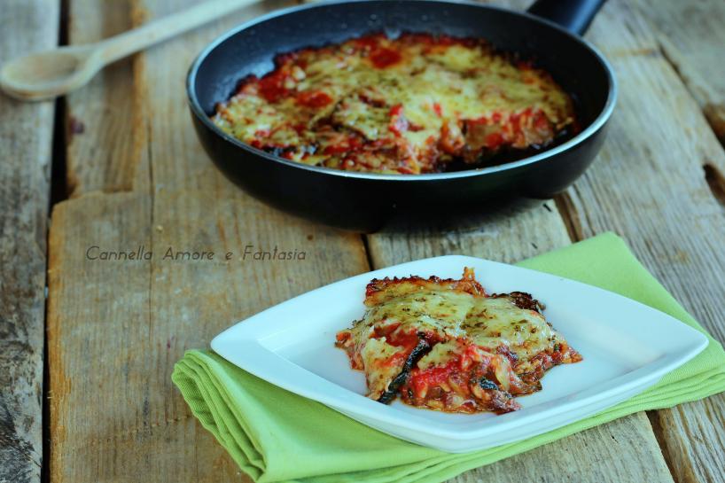 Parmigiana di zucchine - ricetta siciliana