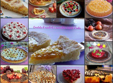 Crostate per tutti i gusti – raccolta di ricette