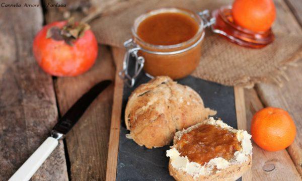 Marmellata di cachi e mandarini
