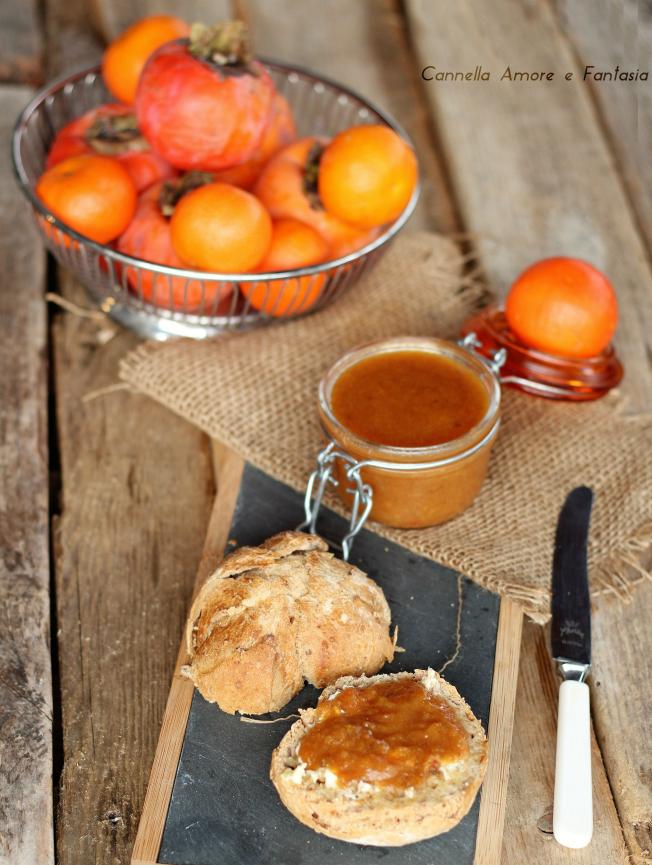 Marmellata di cachi e mandarini ricetta