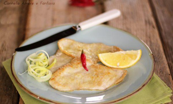 Petto di pollo al limone in padella