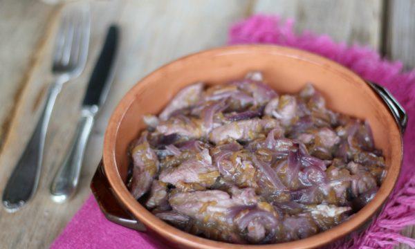 Petto di pollo al vino rosso e zucca