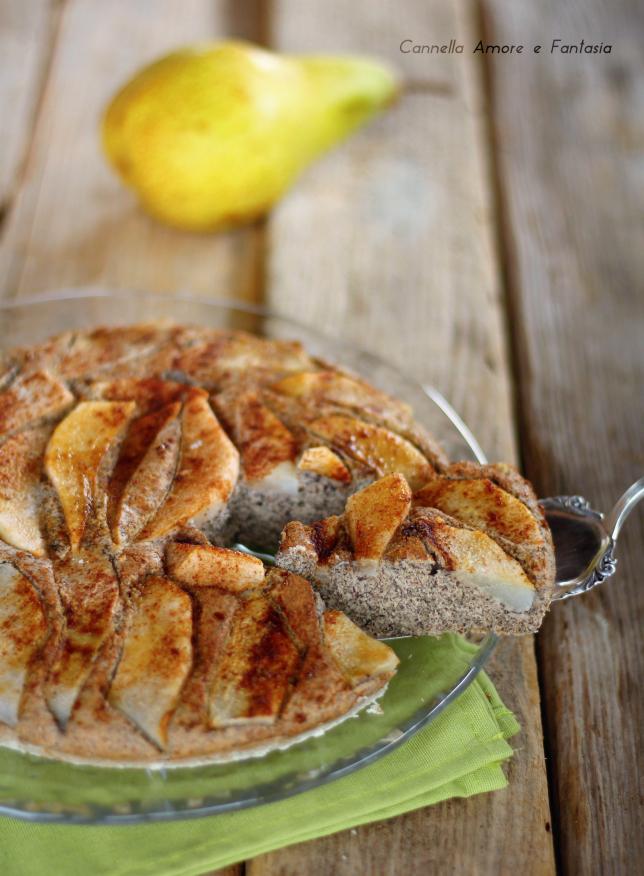 Torta di pere con grano saraceno ricetta senza burro