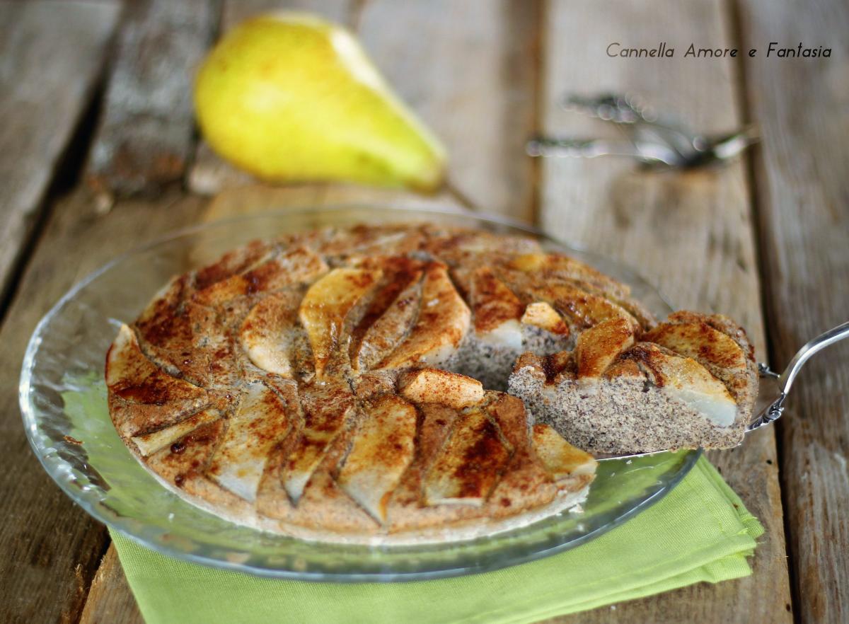 Torta di pere con grano saraceno