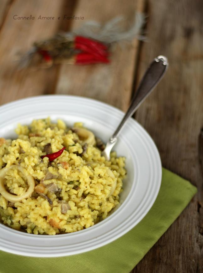Risotto mare e monti - ricetta veloce e gustosa
