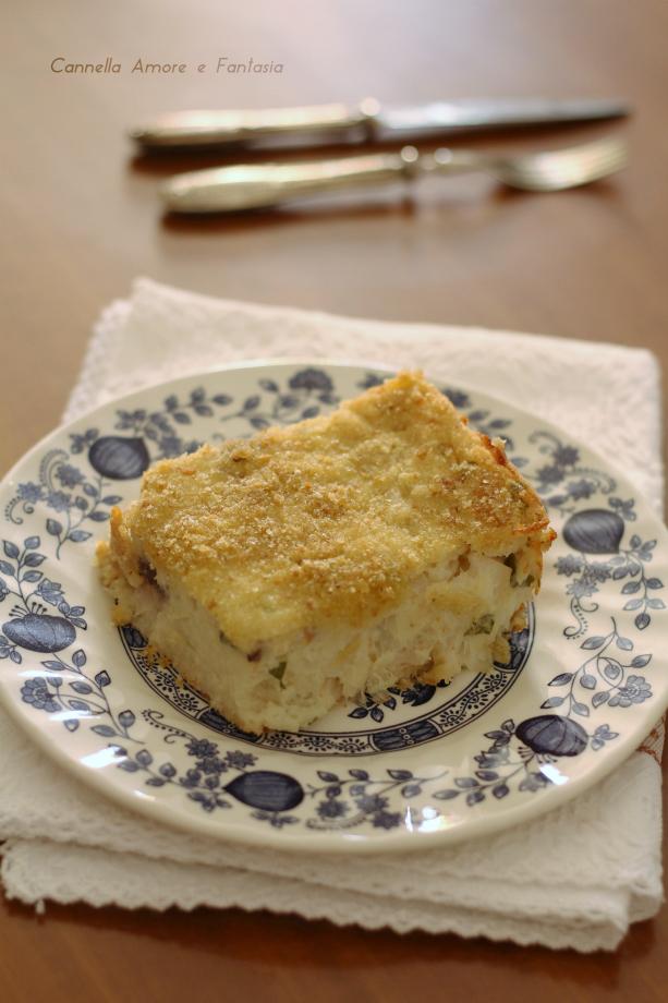 Baccalà alla portoghese ricetta