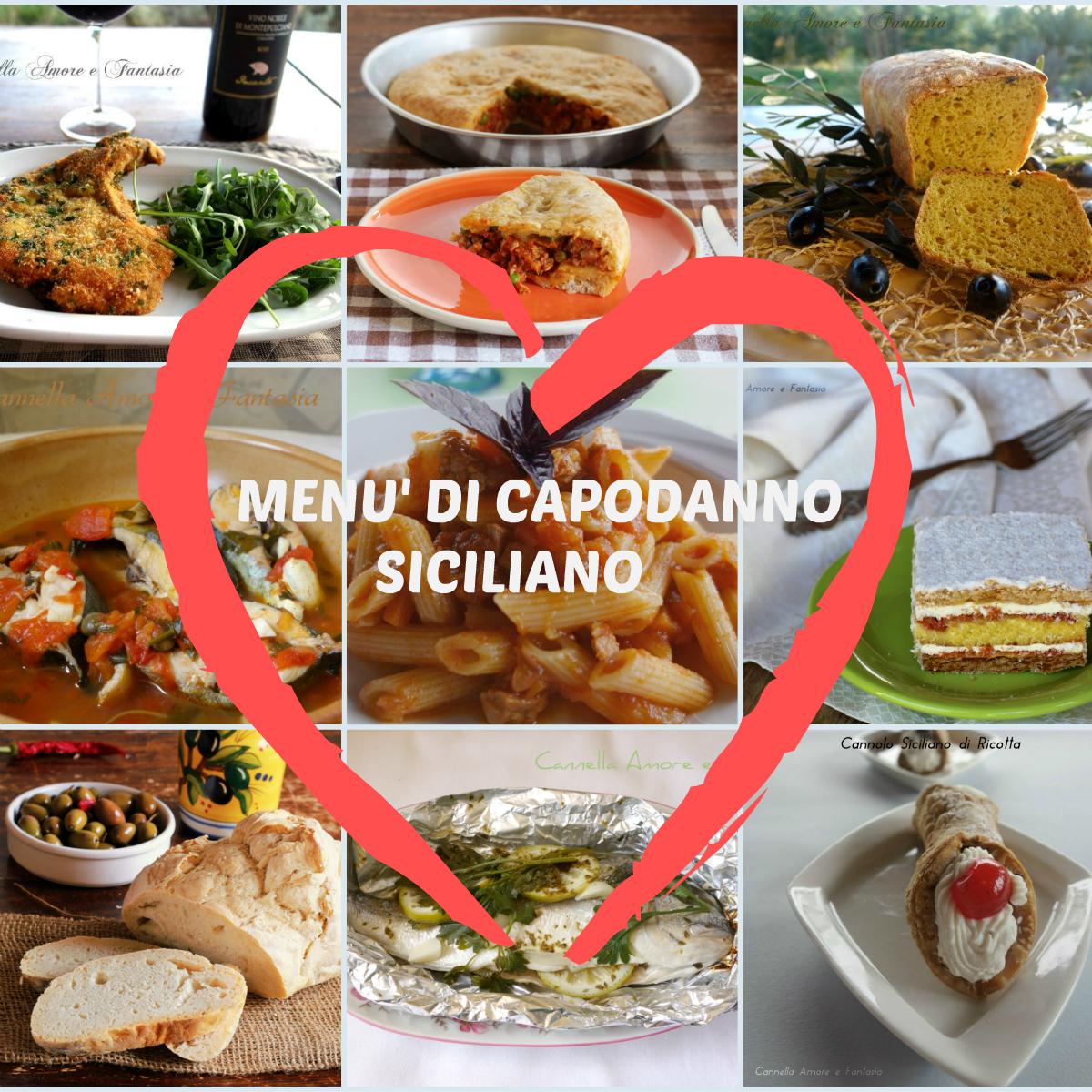Menù di capodanno siciliano – ricette 2017