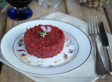 Risotto alla barbabietola – ricetta vegetariana