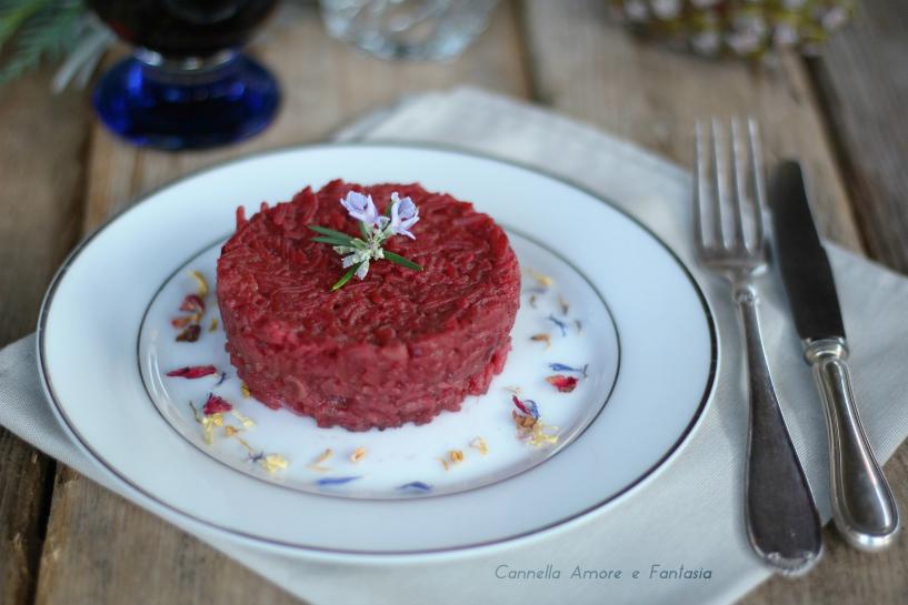 Risotto alla barbabietola - ricetta vegetariana