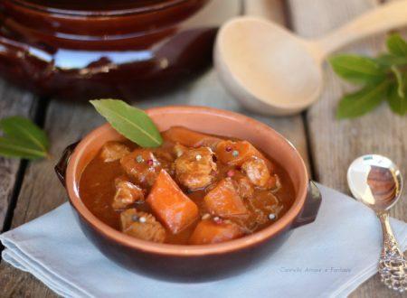 Gulash di petto di pollo – ricetta Ungherese