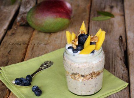 Overnight Oats – Porridge senza cottura