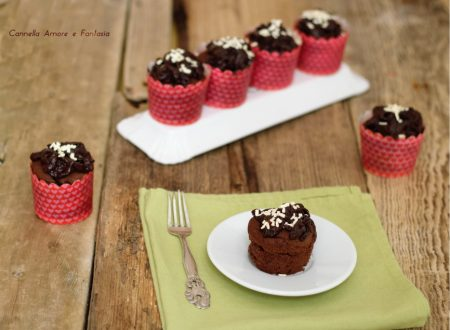 Devil's food cupcake – tortine cioccolattose