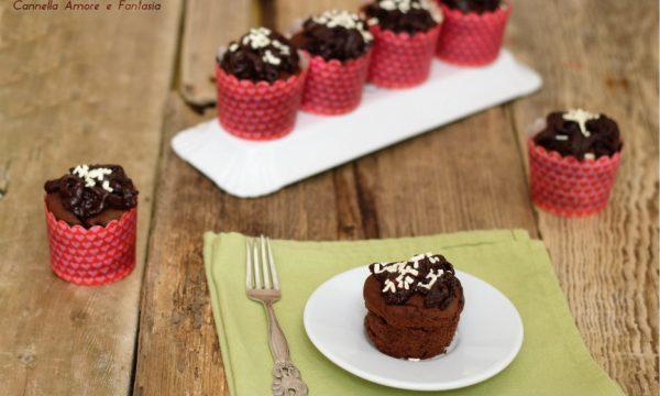 Devil's food cupcake – tortine cioccolattose