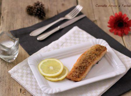 Salmone gratinato al forno – ricetta veloce
