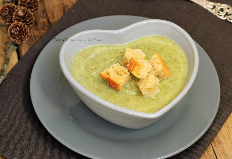 Vellutata di broccoli – ricetta vegan