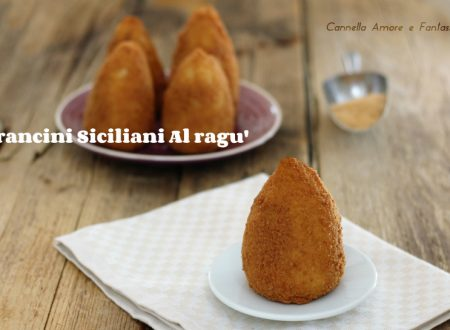 Arancini siciliani al ragù – inclusa la video ricetta