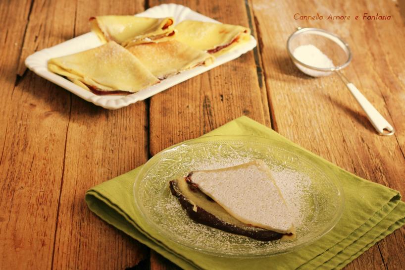 Crepes alla nutella – ricetta facilissima
