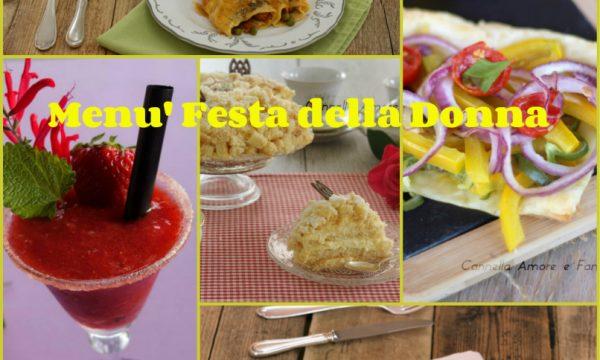 Festa della Donna menù perfetto