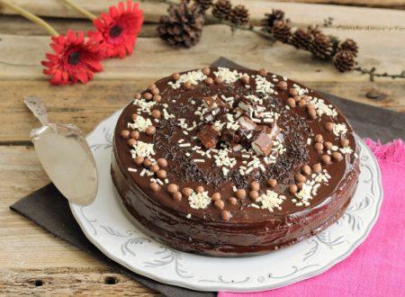 Torta senza bilancia al cioccolato