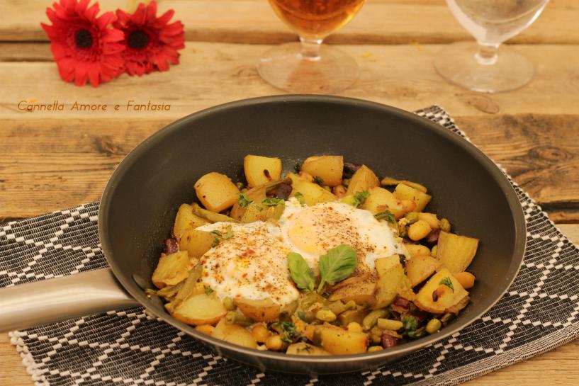Uova alla contadina ricetta vegetariana