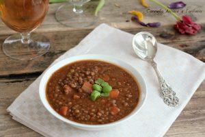 Zuppa di lenticchie alla siciliana