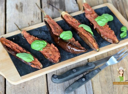 Melanzane ripiene al forno ricetta vegan