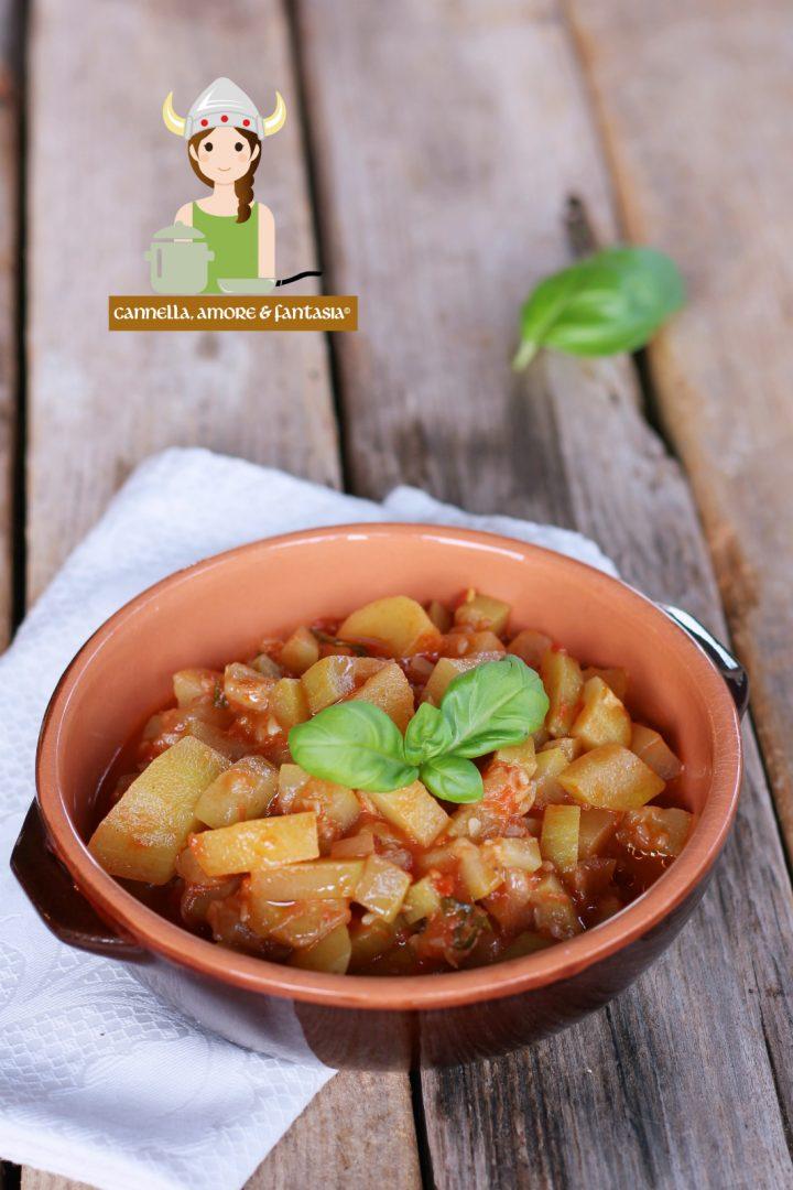 Minestra di zucchine trombetta alla siciliana