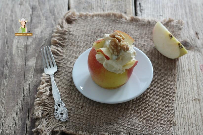 Insalata di mele sedano e noci