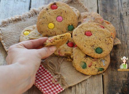Cookies con smarties