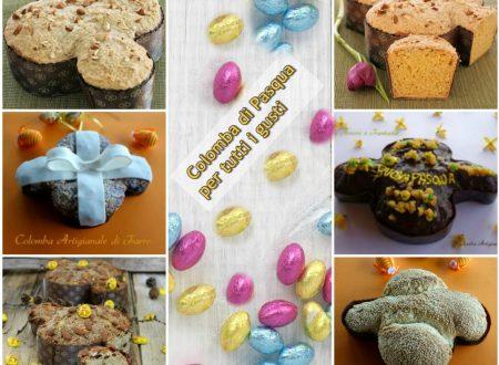 Colomba di Pasqua per tutti i gusti