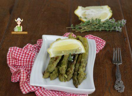 Asparagi arrosto timo e limone