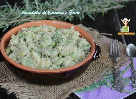 Insalata di quinoa e fave