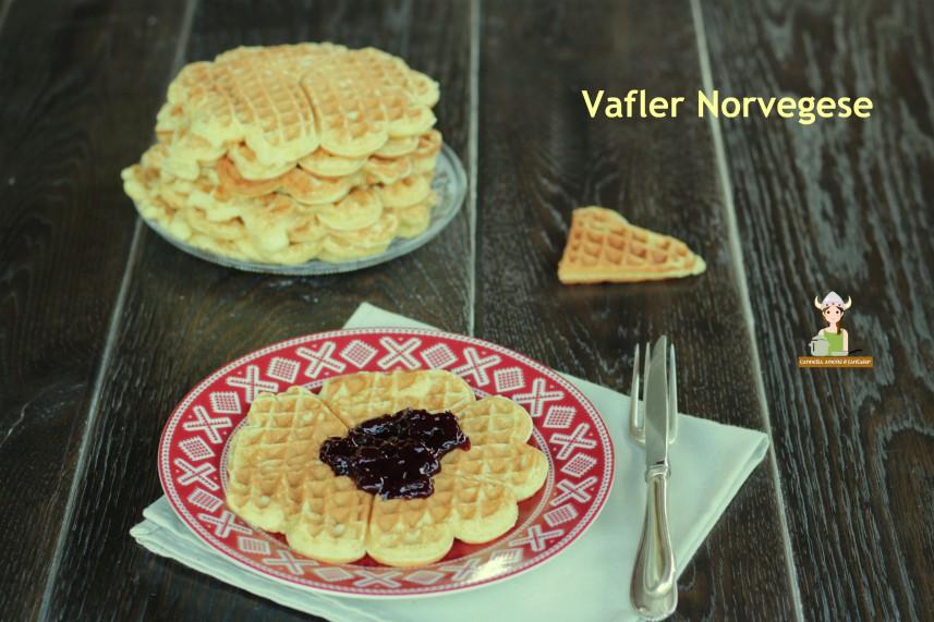 Vafler Norvegesi ricetta originale