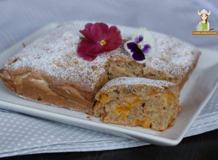 Torta integrale con albicocche