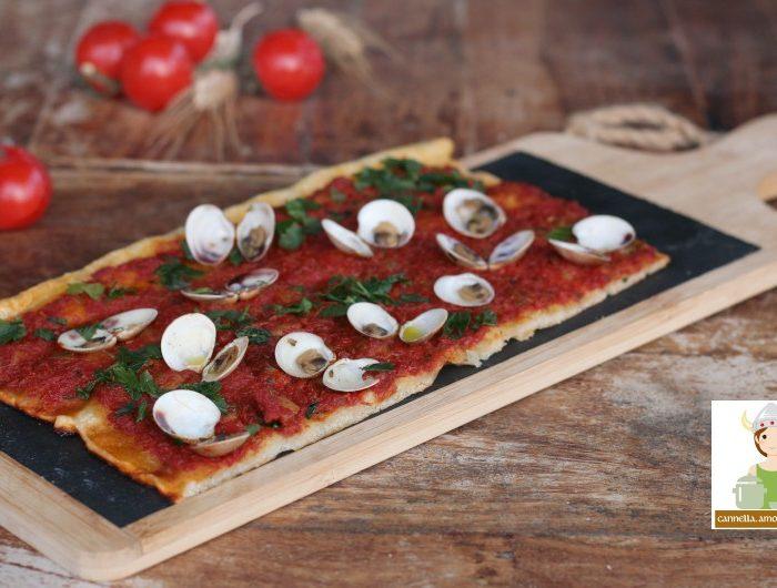 Pizza marinara con vongole