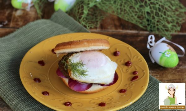 Hamburger bismarck