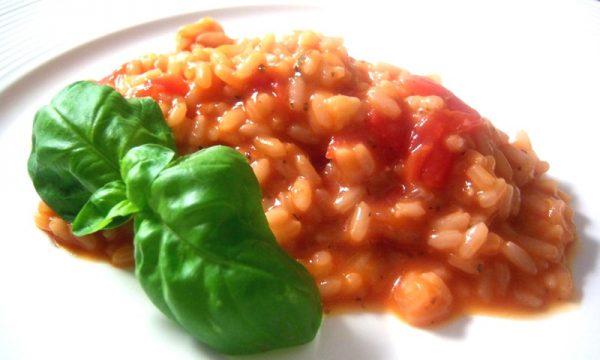 risotto al pomodoro
