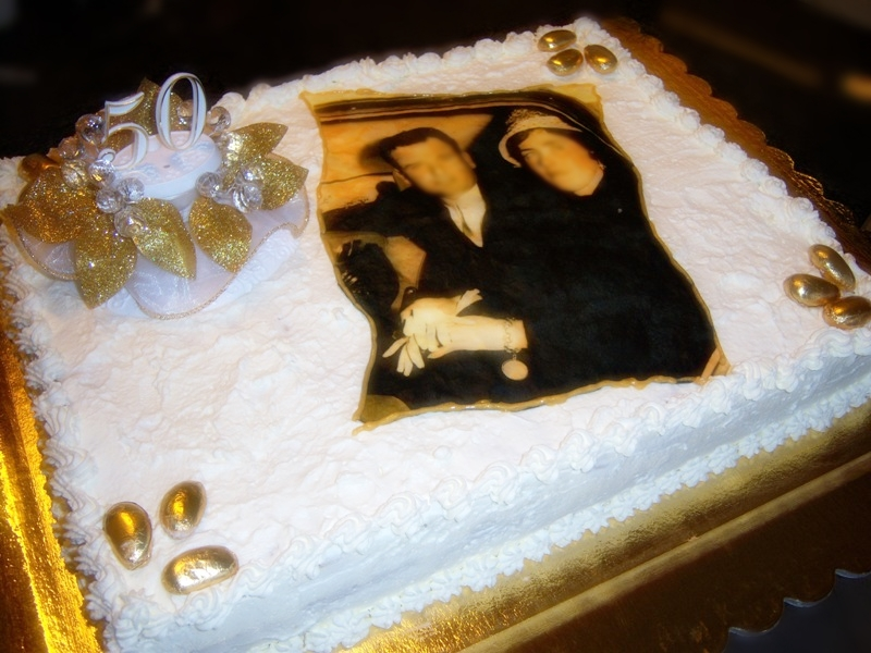 Torta Per Anniversario Di Matrimonio Giallo Zafferano.Torta Per Nozze D Oro Caos Cucina