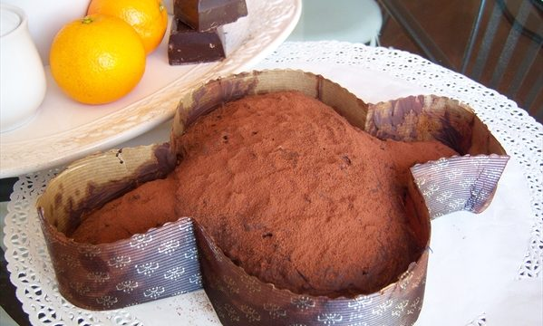 colomba pasquale arancia e cioccolato
