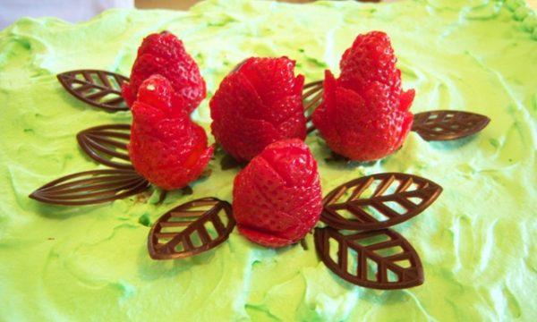 decorazioni con fragole