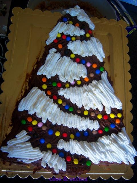 Torta albero natale catiabonati co - Decorazioni torte natalizie ...