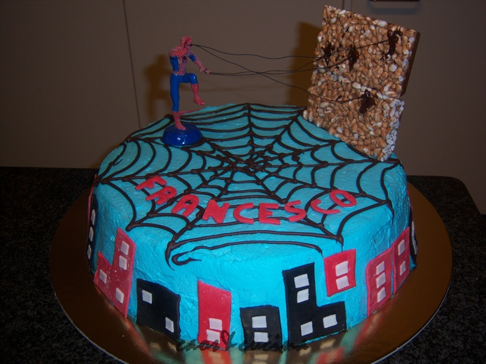 Torta Spiderman Catiabonati Co