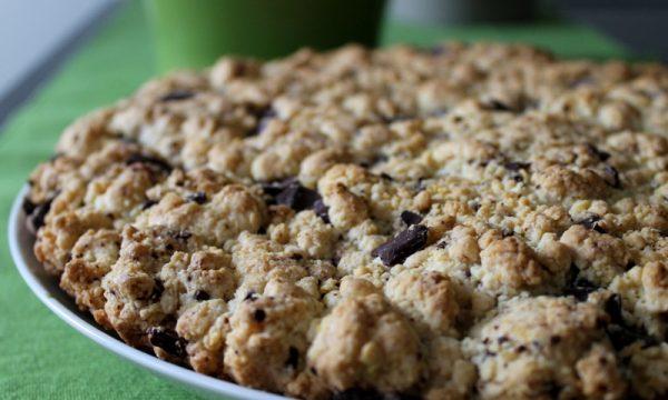 torta cookie, dai famosi biscotti americani